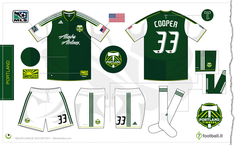 the latest 0d820 3d5c5 Portland Timbers 2011 home kit | Sergio Scala | Flickr