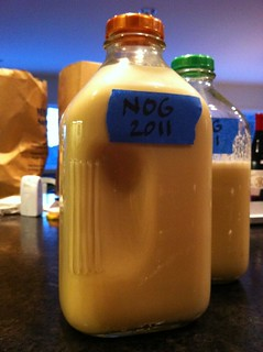 Eggnog 2011 made and ready to age! | by megnut