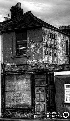6/365 Long Abandoned Portsmouth - Arkell The Chemists | by Hexagoneye Photography