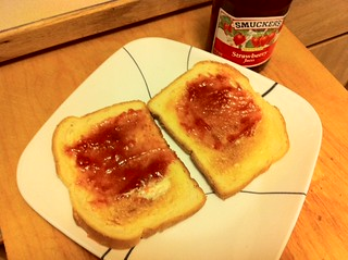 Happy with my Toast and Jam... | by Blogography