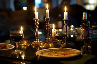 Candles and drinks | by tobias.bjorkgren