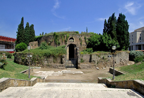 Rome. Mausoleum of Augustus.