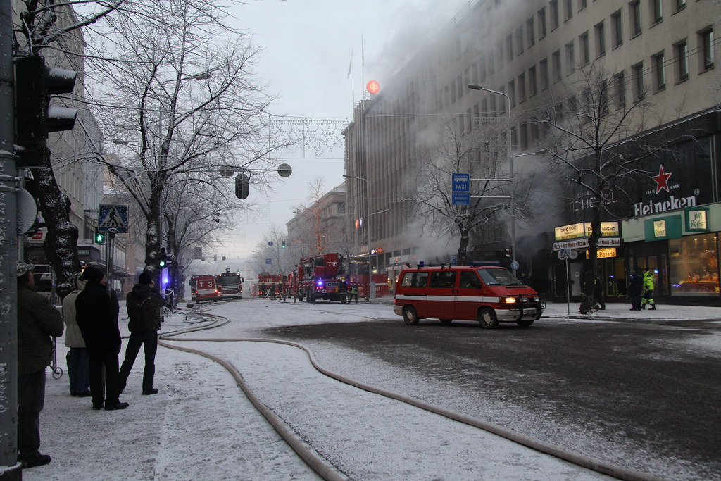 Tulipalo Tampere