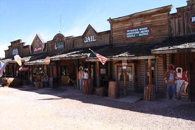 Wild West-style village