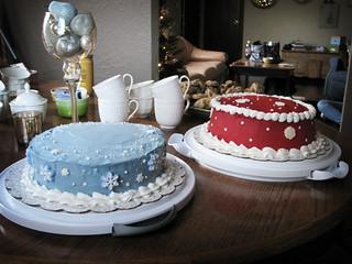 snowflake cakes | by crystalliora ✦ vesper704