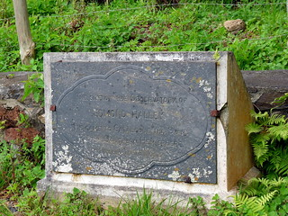 St. Helena, Halley's Mount, Plaque | by paulineandjohng2008