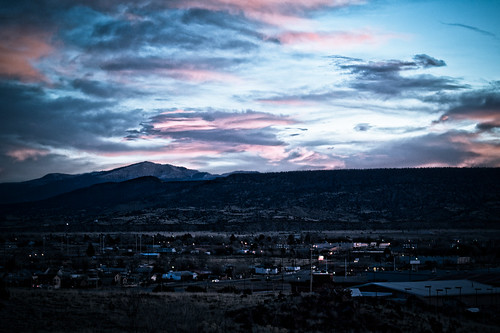 winter sky mountain newmexico clouds sunrise landscape mesa grants mttaylor