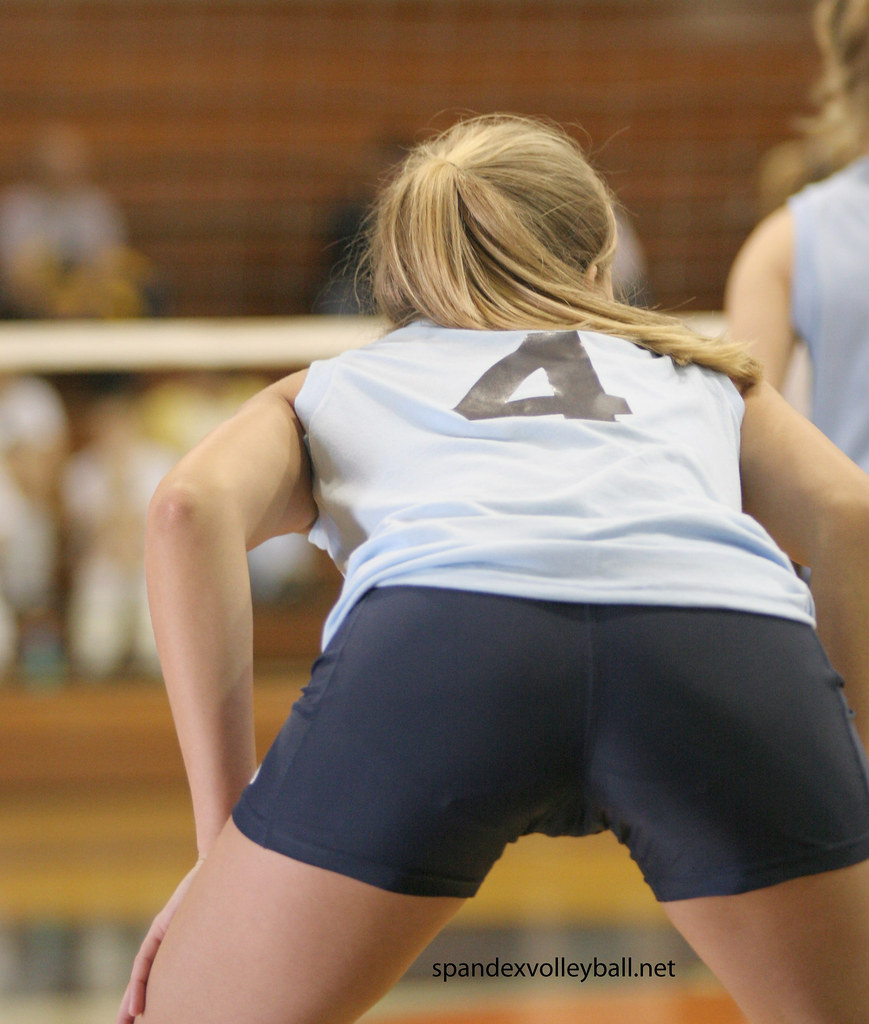 Volleyball big ass booty shorts