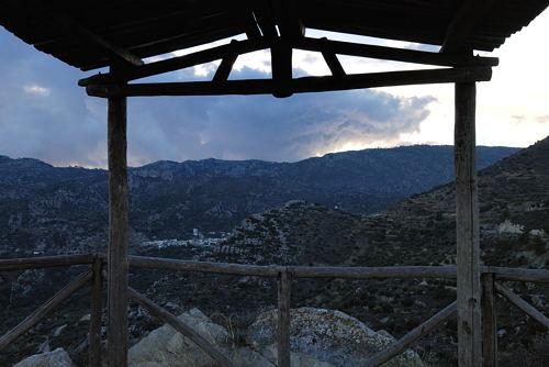 Kalamafka -  viewpoint - early evening