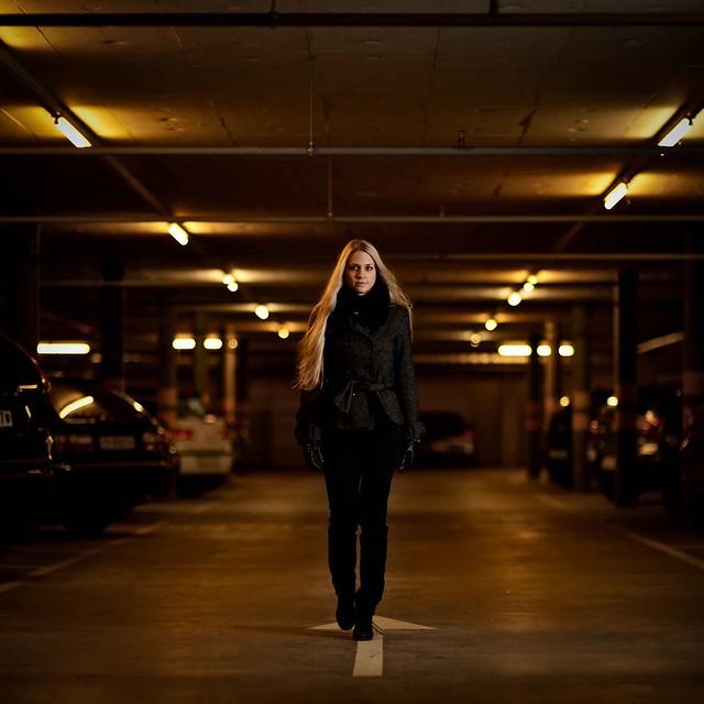 A Walk in the Underground Car Park