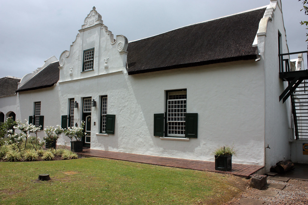 Cape Dutch house, Paarl, South Africa
