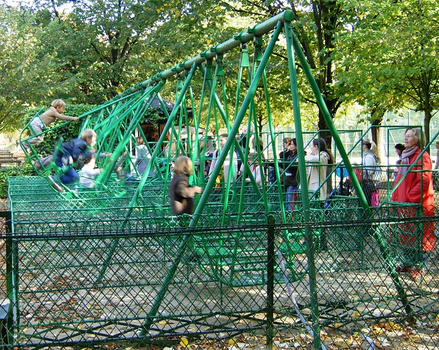 swings at the garden