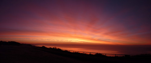 Boscombe cliff view