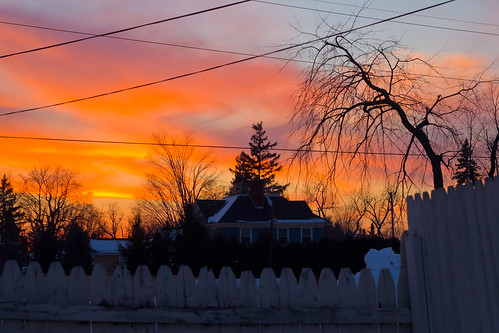winter sunset sky house tree last canon fence photography eos rebel 50mm 2010 columbiacounty t2i
