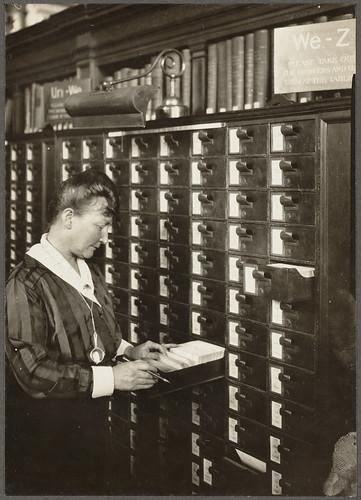 Boston Public Library. Bates Hall catalogue. Agnes C. Doyle. | by Boston Public Library