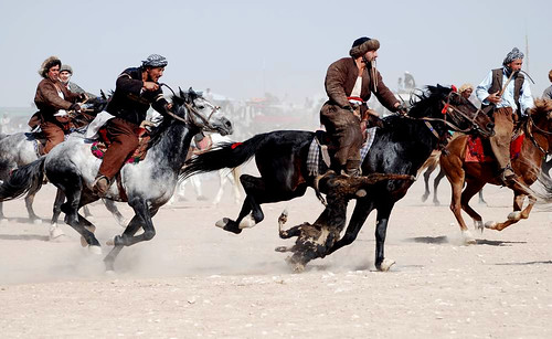 Buzkashi in Afghanistan | by United Nations Photo