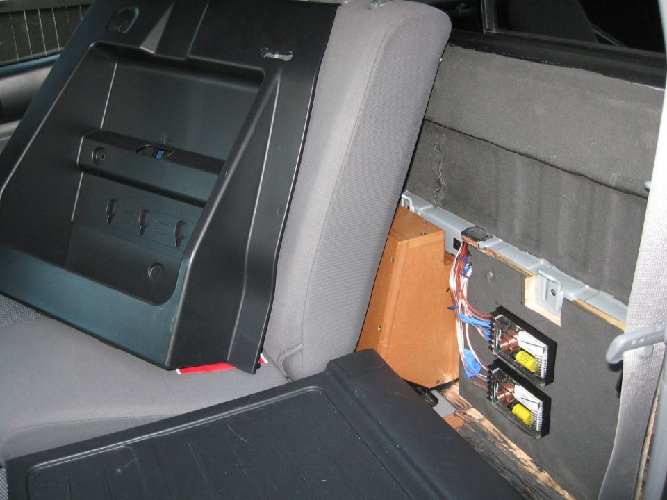 Toyota Tacoma Alpine PDX5 Subwoofer Crossover Install   Flickr