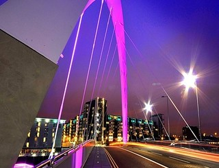 The Squinty Bridge, River Clyde, Glasgow