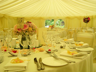 Elegant wedding marquee | by county marquees