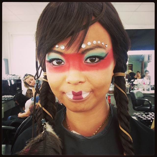 ... Theatrical makeup photoshoot #makeupartist #makeup #toronto #torontomakeupartist #theatrical #theatre #