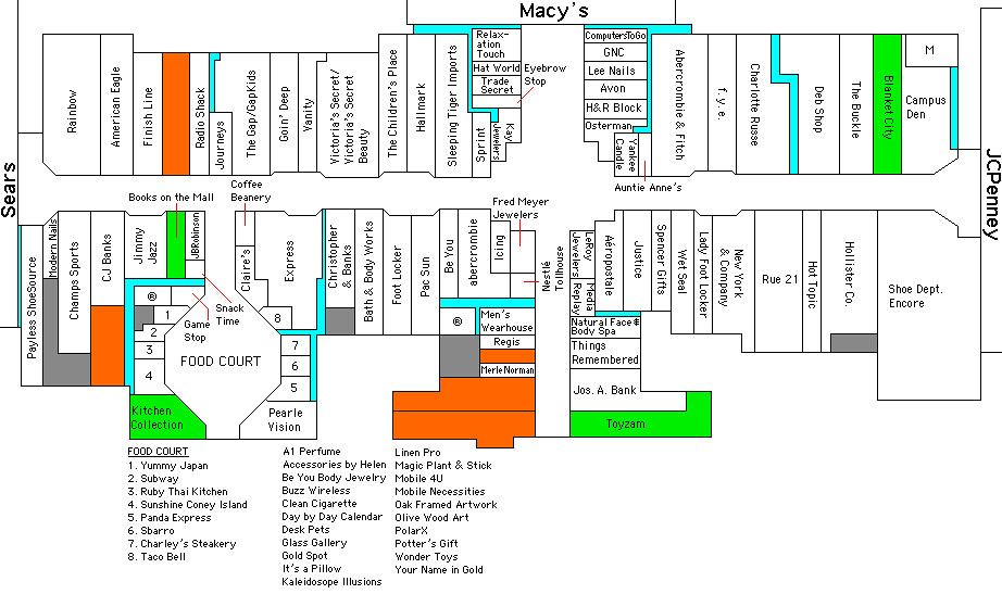 Fashion Place Mall Map Fashion Square Mall, Saginaw MI | Click full size for best r… | Flickr