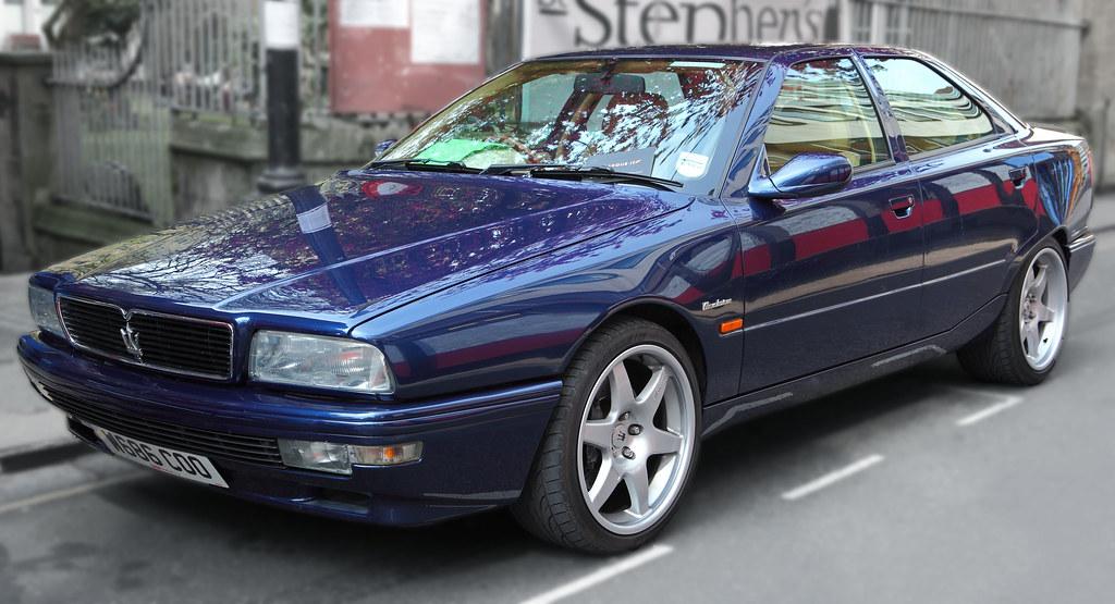 Maserati Quattroporte IV Evoluzione, c2000   3.2 Litre V8 ...
