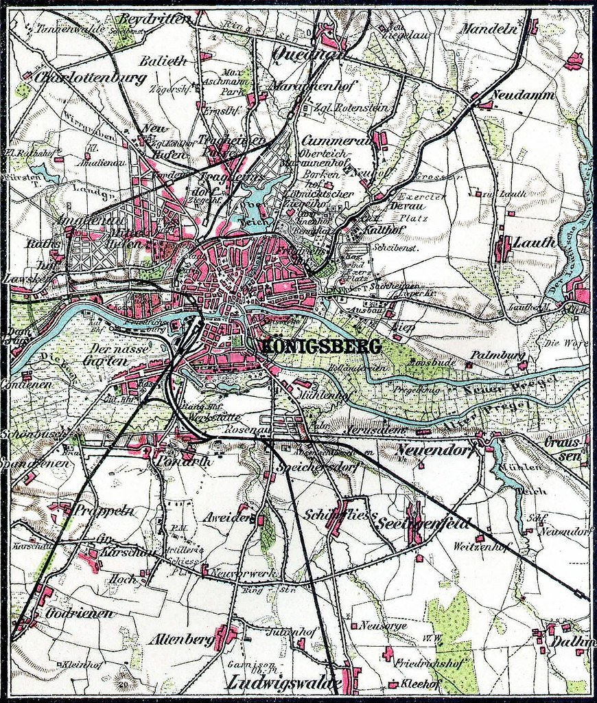 Königsberg Kaliningrad Karte.011 Königsberg Und Umgebung Karte Die Umgebungskarte Von Flickr