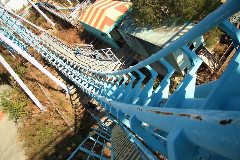 antiguo Boomerang, Parque de Atracciones de Montjuic