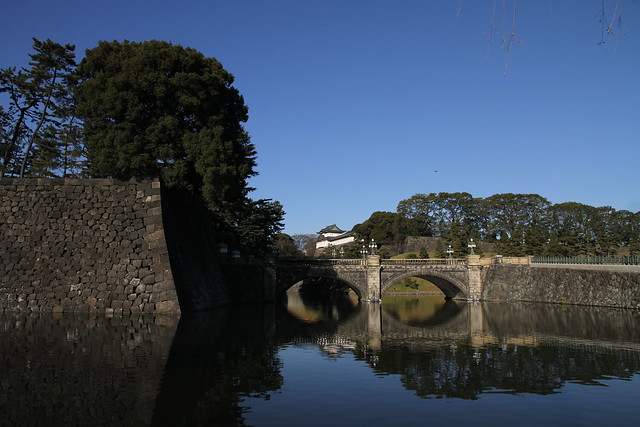 Castle Entrance on a Winter's Day, Tokyo