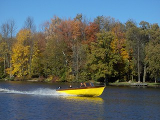 Boat on the Rideau River