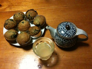 Blueberry muffins and yuzu tea | by 305 Seahill