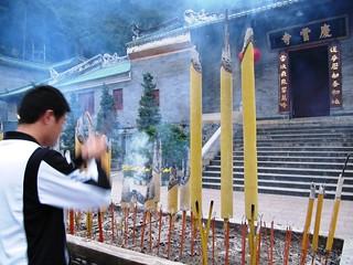 Praying, Huge Incense Sticks   by everlutionary