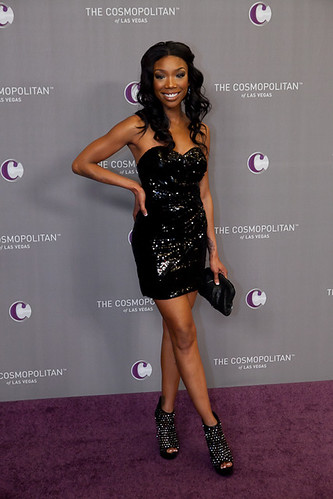 Singer Brandy at The Cosmopolitan Grand Opening and New Year's Eve Celebration