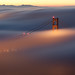 Rare Inspiration - Golden Gate Bridge, SF by James Anthony Photography