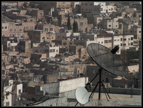 Hebron Urban Details: Of Roofs and Dishes... | by Flavio~