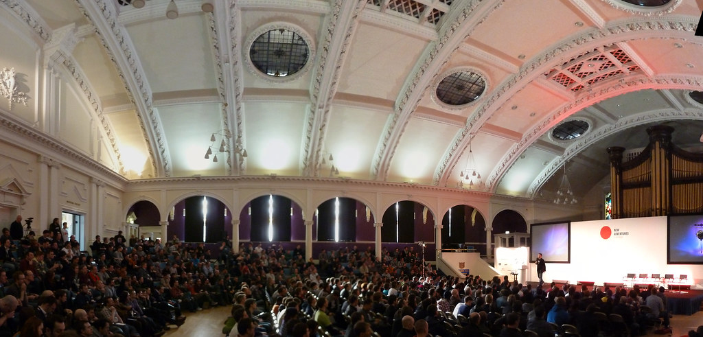 The Albert Hall in Nottingham during the #naconf 2011
