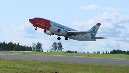 Boeing 737-36N LN-KKL at Rygge Air Show 2009 | by J.Comstedt