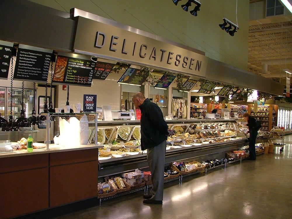 Grocery Decor Design   Delicatessen Area Signage   Interio ...