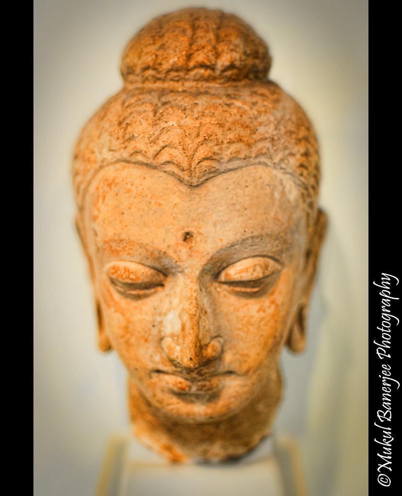 Bust Gautam Buddha Statue 1 Ce Gandhara Empire Gandhara Flickr