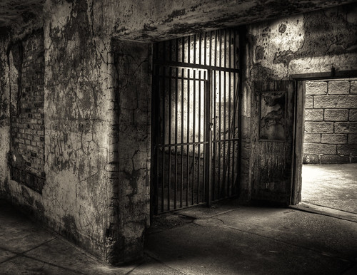 Prison Textures and Shadows | by Bob Jagendorf