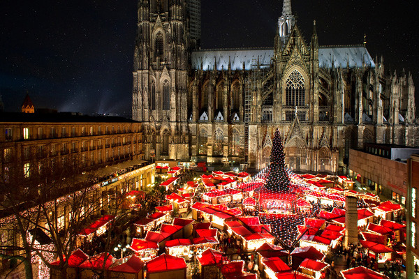 öffnungszeiten Weihnachtsmarkt Köln.Weihnachtsmarkt Am Kölner Dom 2010 Sternenzelt Und Lichter Flickr