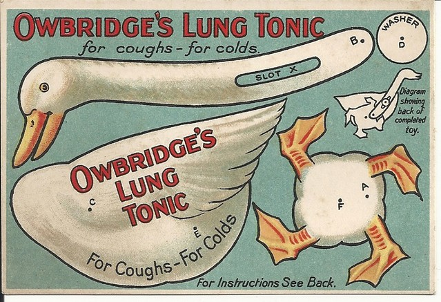 OWBRIDGE LUNG TONIC - GOOSE MODEL FOR CUT-OUT