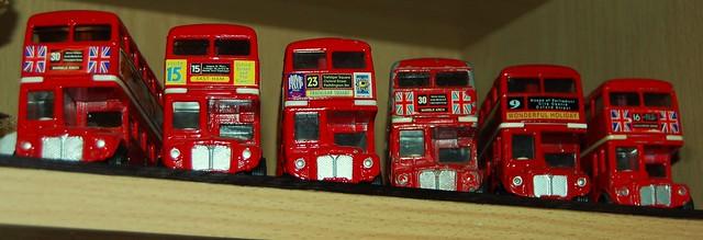 Corgi Routemasters 4