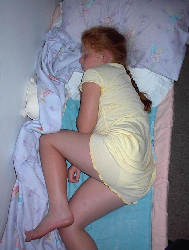 Sleeping Teen Pussy