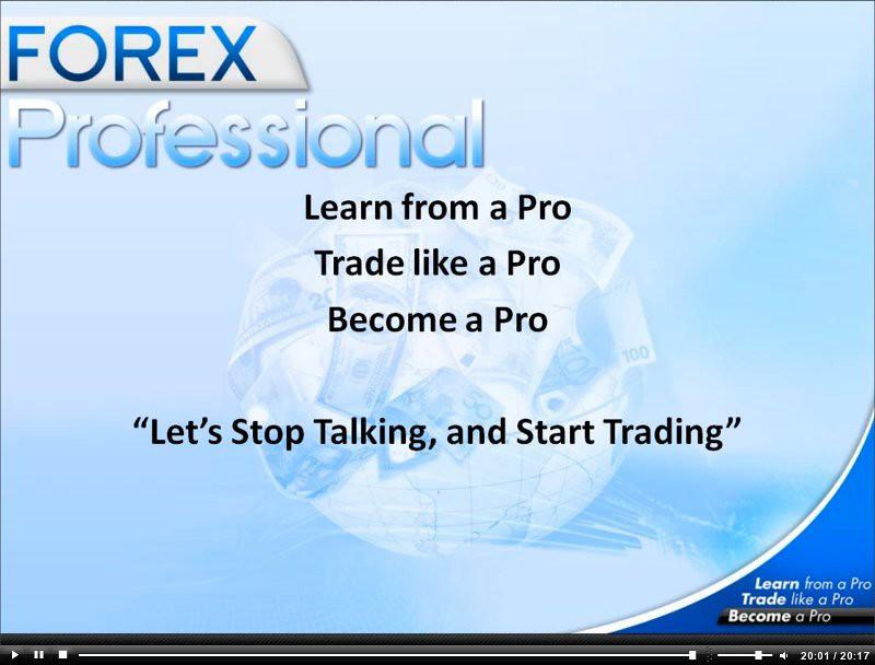 Forex trader pro