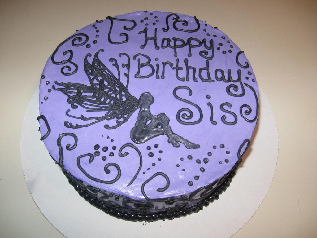 Marvelous Happy Birthday Cake For My Sister Sandpoint City Sweets Cake Birthday Cards Printable Benkemecafe Filternl