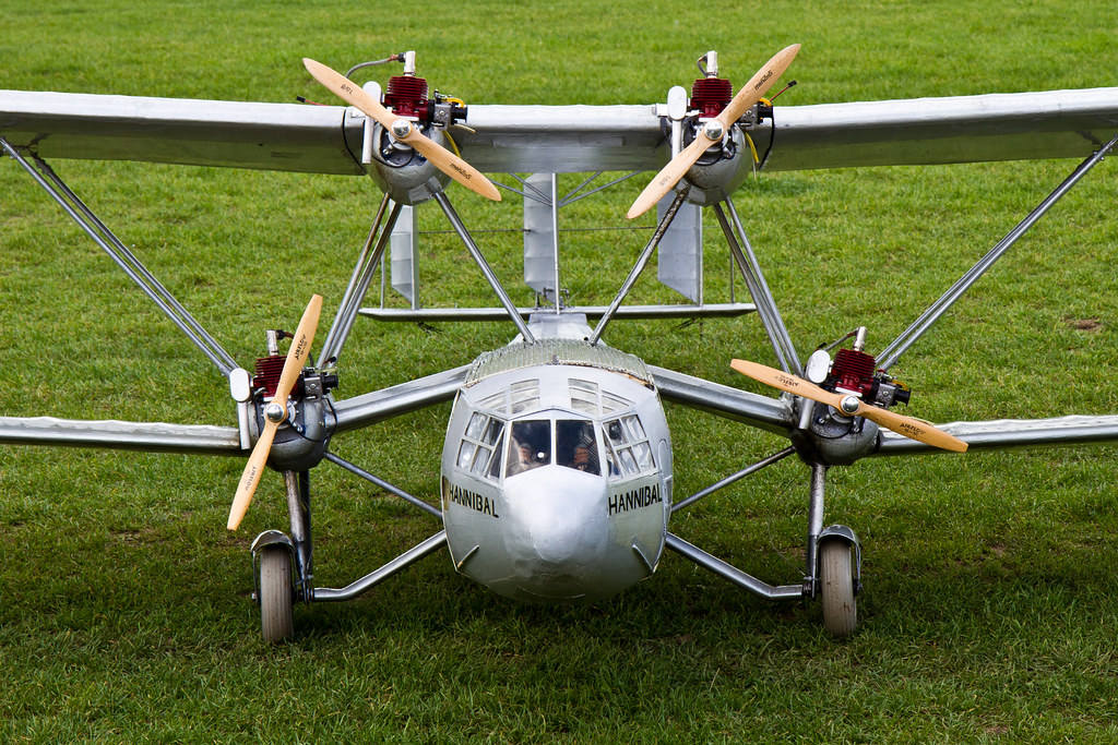 Large Scale RC Plane at Catton Hall Show  | Ian Gratton | Flickr