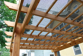 Shade cloth on pergola | by Field Outdoor Spaces