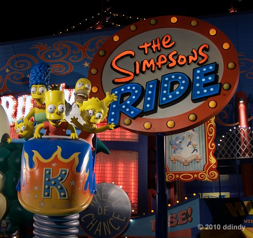 The Simpsons Ride | by ddindy