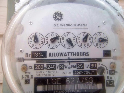 11/365 Electric Meter | by Theophilus Photography